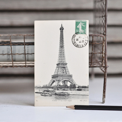 http://anatomiedesobjets.tumblr.com/post/64417292494/antique-eiffel-tower-postcard-by-petits-details-on