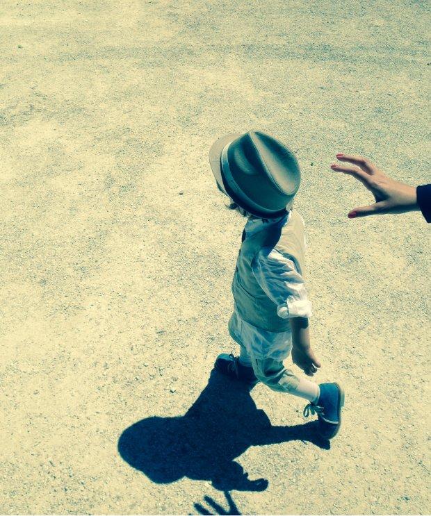 La mia mano e il mio ometto ;)) My hand and my little man ;))