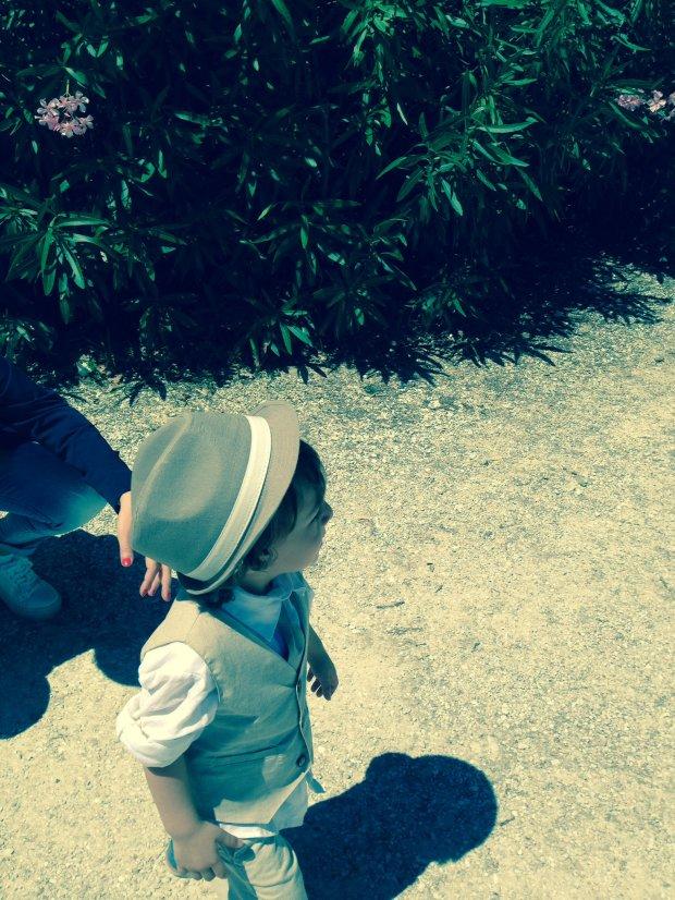 Io e il mio ometto Me and my little man