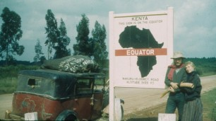 Alfred Jakobine taxi at Equator copy